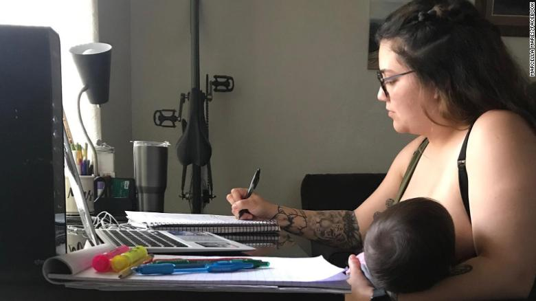 College Student Told Not To Breastfeed During Online Class