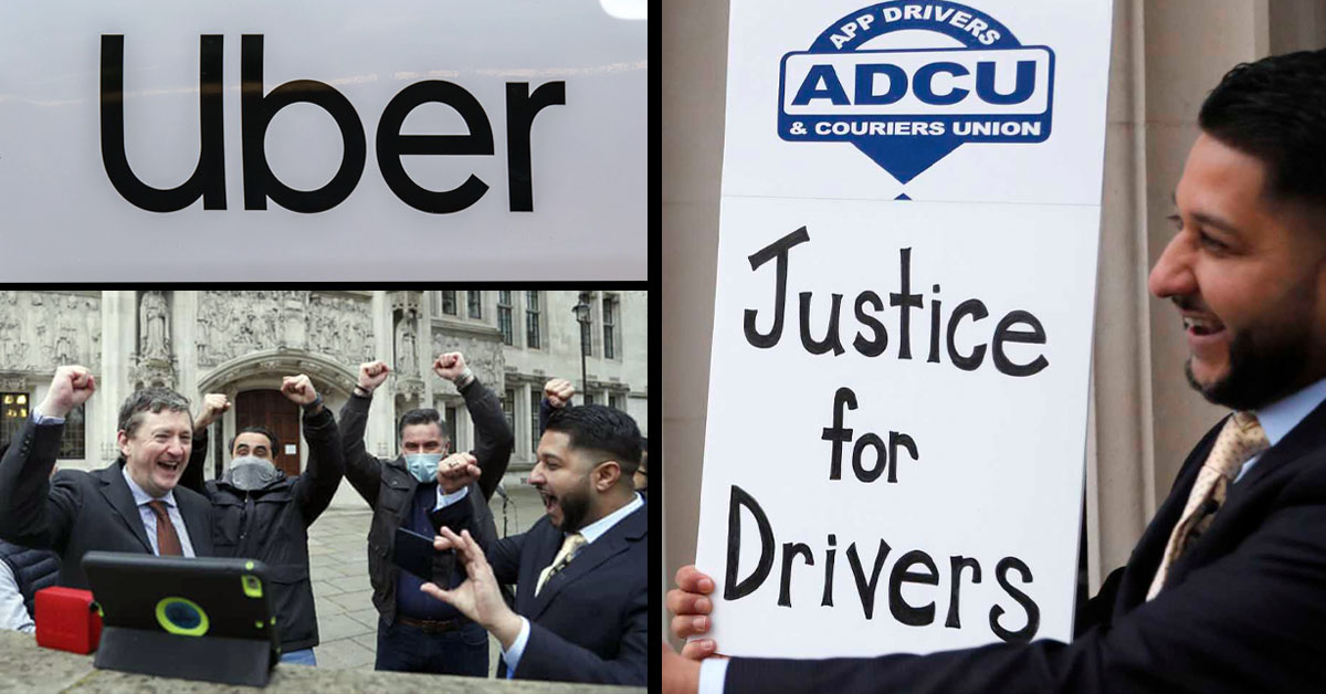 'Justice For Drivers' – Uber Drivers Are Employees UK Court Rules